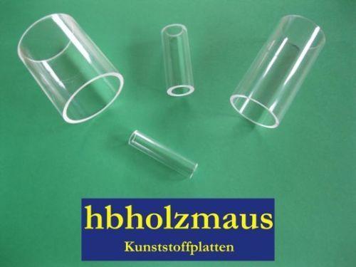 Acrylglas Rohr XT Klar Ø 44//40 mm Zuschnitt wählbar 11,49 €//m
